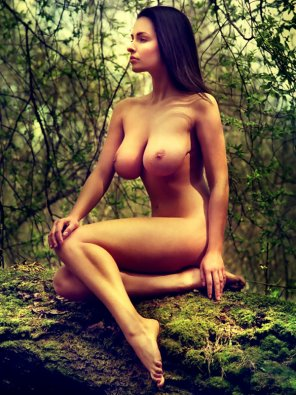 amateur photo Lady of the forest