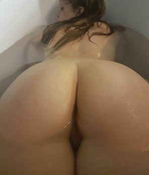 amateur photo In the bath