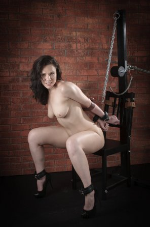 amateur photo Cuffed and Chained