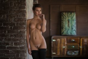 amateur photo Landing Strip and Stockings