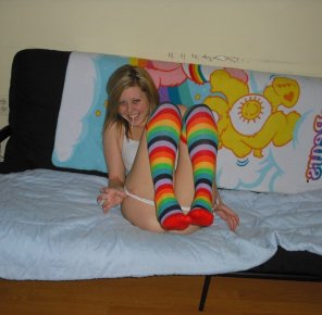 amateur photo Rainbow brite