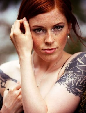 amateur photo Freckles & Tats