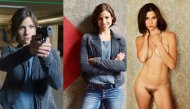 Hot German action TV star Katrin Hess takes it all off