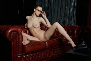 amateur photo Leather Sofa