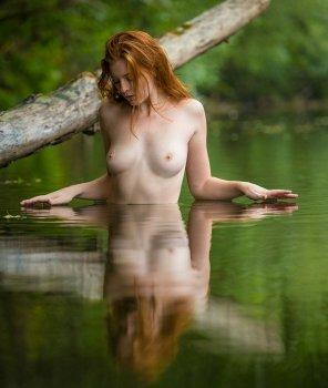 amateur photo Wading