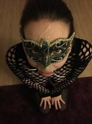 amateur photo Masquerading As A Cumslut