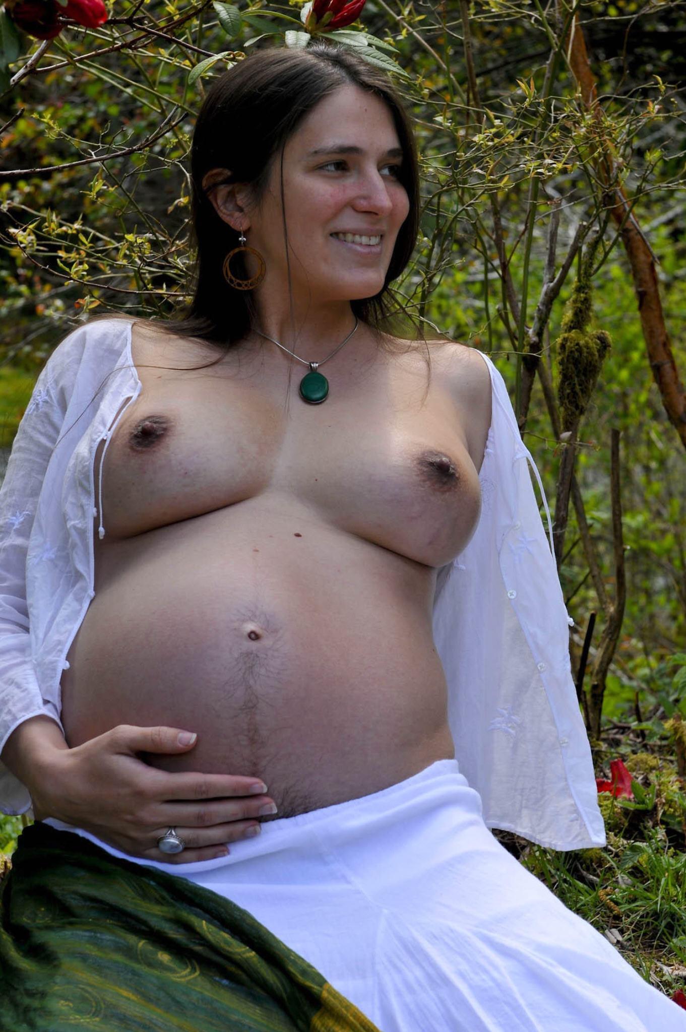 Hairy Pregnant Pics