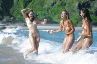 Happy Naked Girls