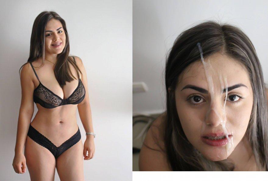 Amazing body, Amazing facial Porno Zdjęcie