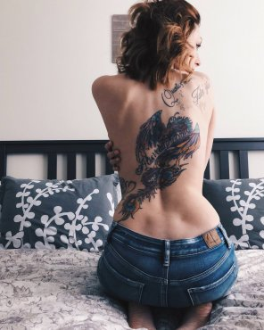 amateur photo Jeans Dimples Ink