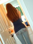 amateur photo Red from behind