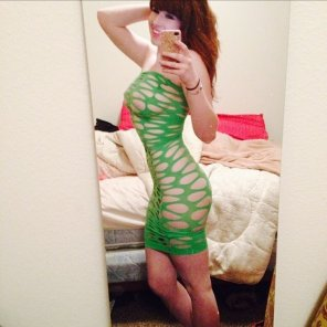 amateur photo Holy dress