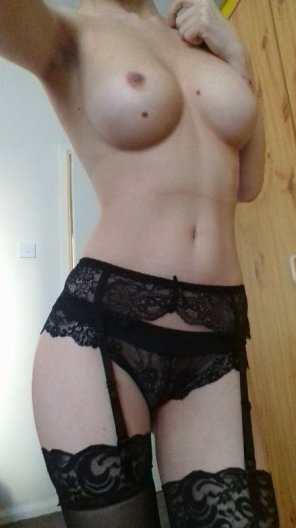 amateur photo just stockings