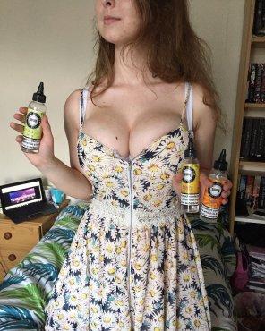 amateur photo Flower Dress