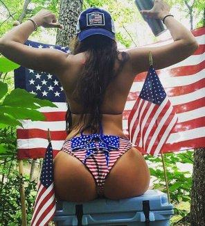 amateur photo American ass