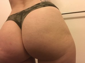 amateur photo New thong