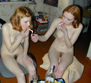 amateur photo Naked Twins