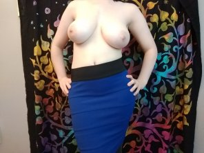 amateur photo Perfect office attire ;)
