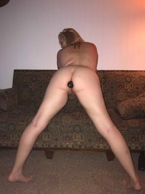 amateur photo The wife u/kinkykate21 with her first plug in