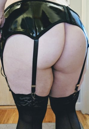 amateur photo Backseam stockings, anyone?