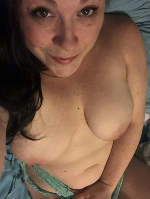amateur photo Stripping and getting back into bed, you cumming?