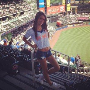 amateur photo This Mets fan