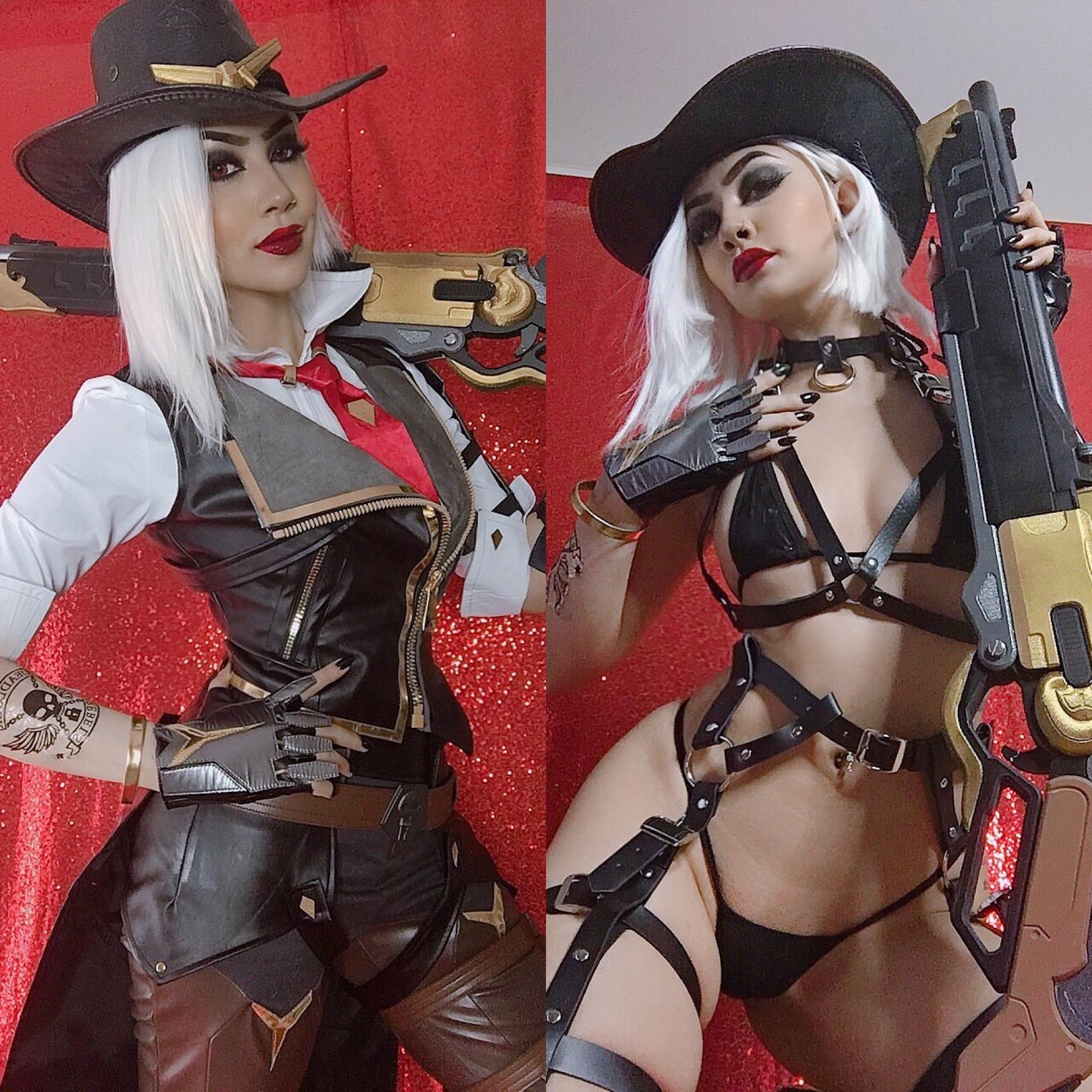 Porn ashe cosplay Danni ashe