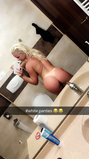 amateur photo White Panties