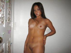 amateur photo Asian mound