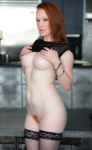 amateur photo Lacy ginger...