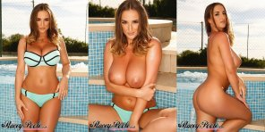 amateur photo Stacey Poole triptych