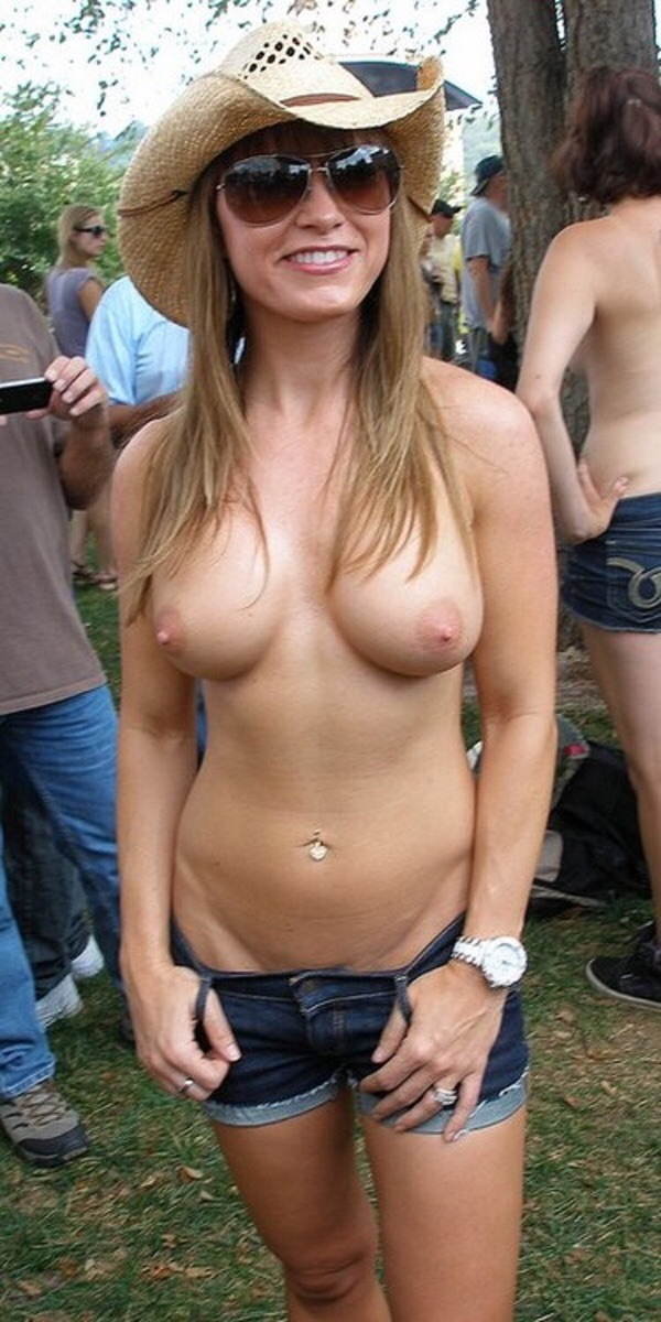 Country girls partying topless pic 328