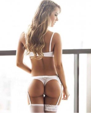 amateur photo White Thong, Perfect Ass