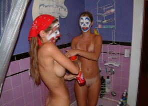 amateur photo Dirty juggalos, clean juggalos