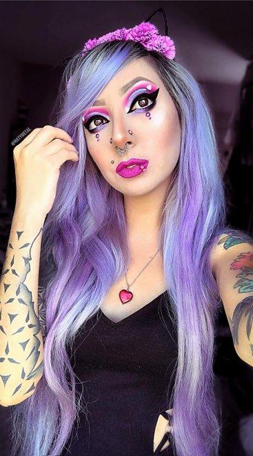 The Purple Valentine Porn Photo