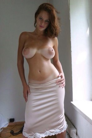 amateur photo Tanlined Beauty