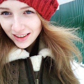 amateur photo Winter Fox