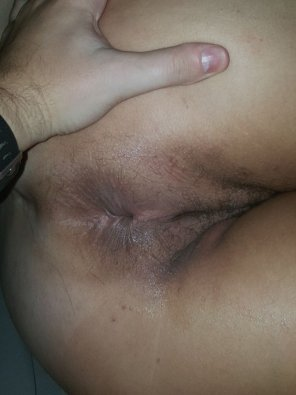 amateur photo Asshole with a dash of pussy!!! Wifey loves the comments and attention!