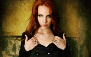 amateur photo Something about her drives me wild. Lead singer of metal band Epica