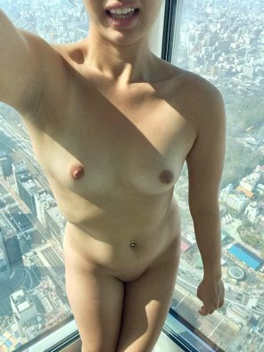 amateur photo It's been a [f]ew! Atop the tallest tower in Japan