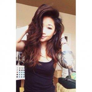 amateur photo Unbelievable tattooed Asian