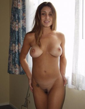 amateur photo Amateur girl with nice tits and nice little bush