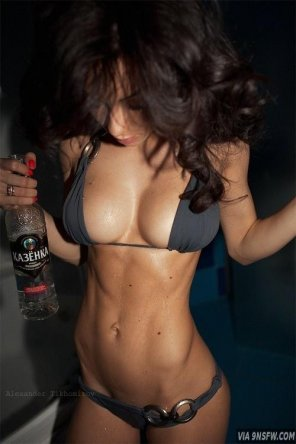amateur photo Fit drunk girl