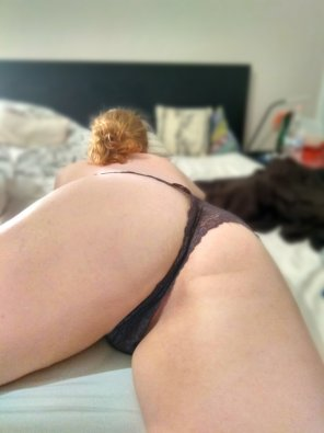 amateur photo Wanna see what's under those panties?