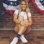 amateur photo American Girl.