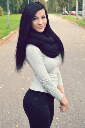 amateur photo Finnish girl with a perfect body