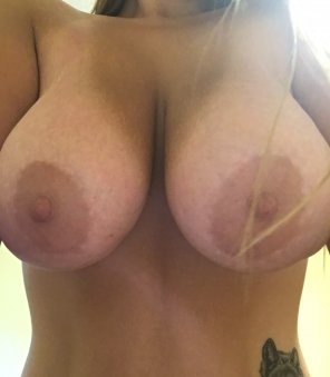 amateur photo It's Titty Tuesday! How do y'all like my tits?