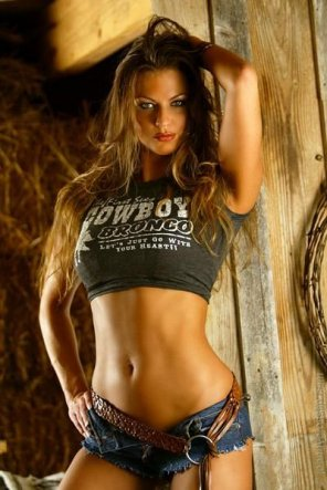 amateur photo Cute cowgirl