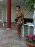 amateur photo String bikini untied