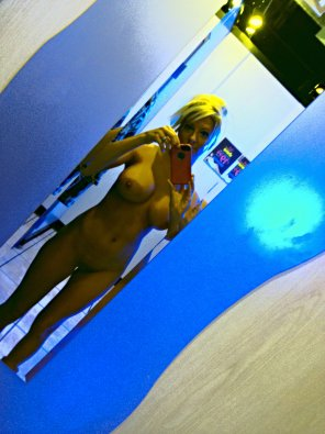 amateur photo Tanning bed